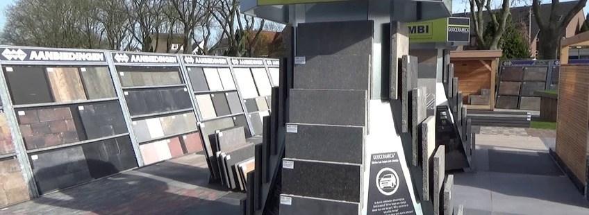 Drone film locatie Ridderkerk Tegelhandel Boer