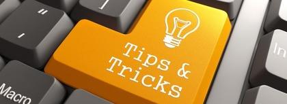 Tips 'n tricks